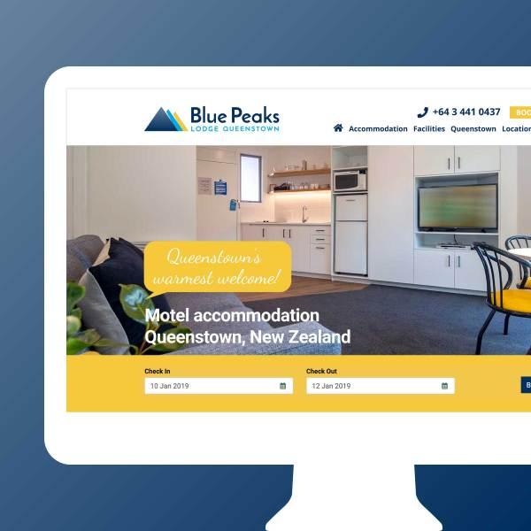 Blue Peaks Website