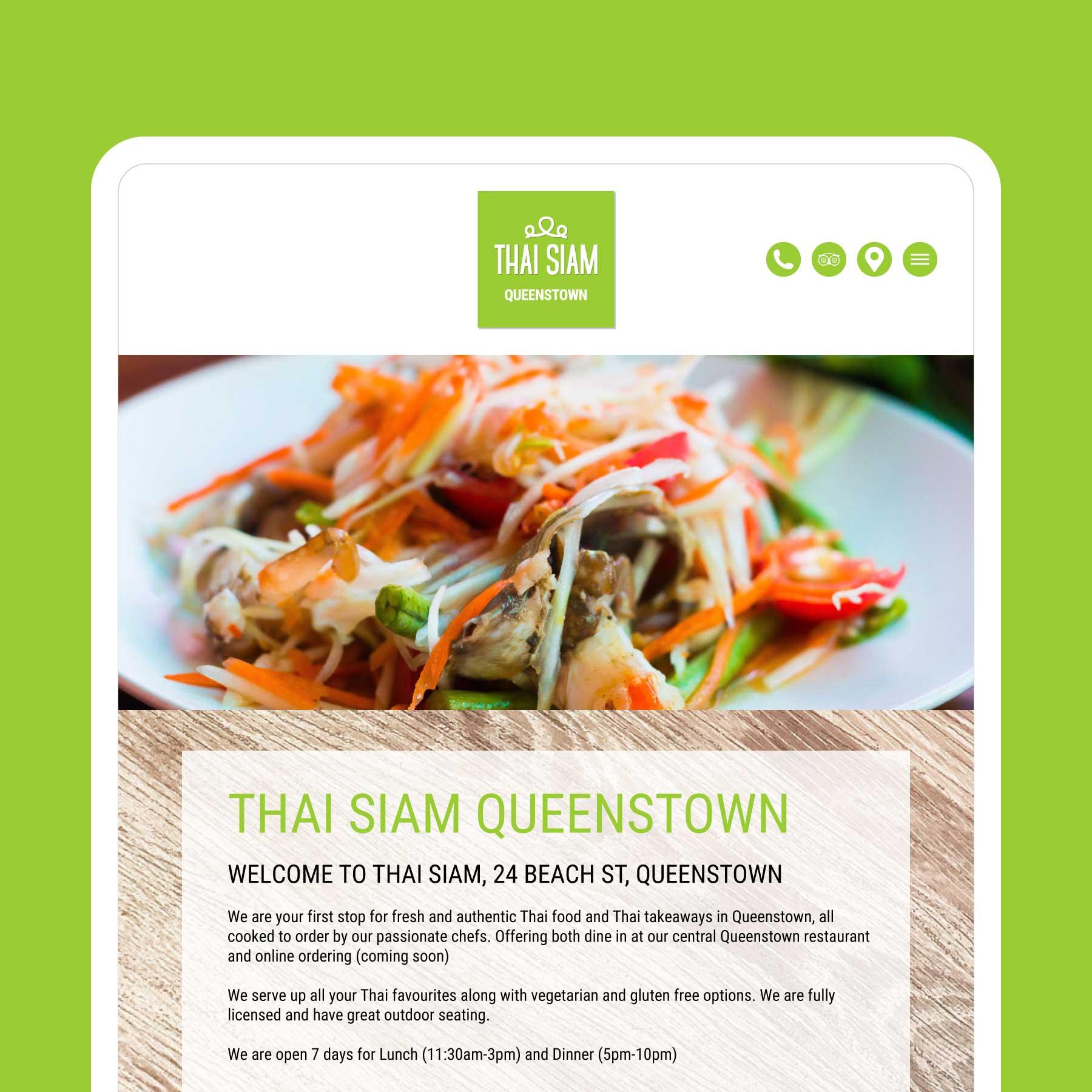 Thai Siam Website