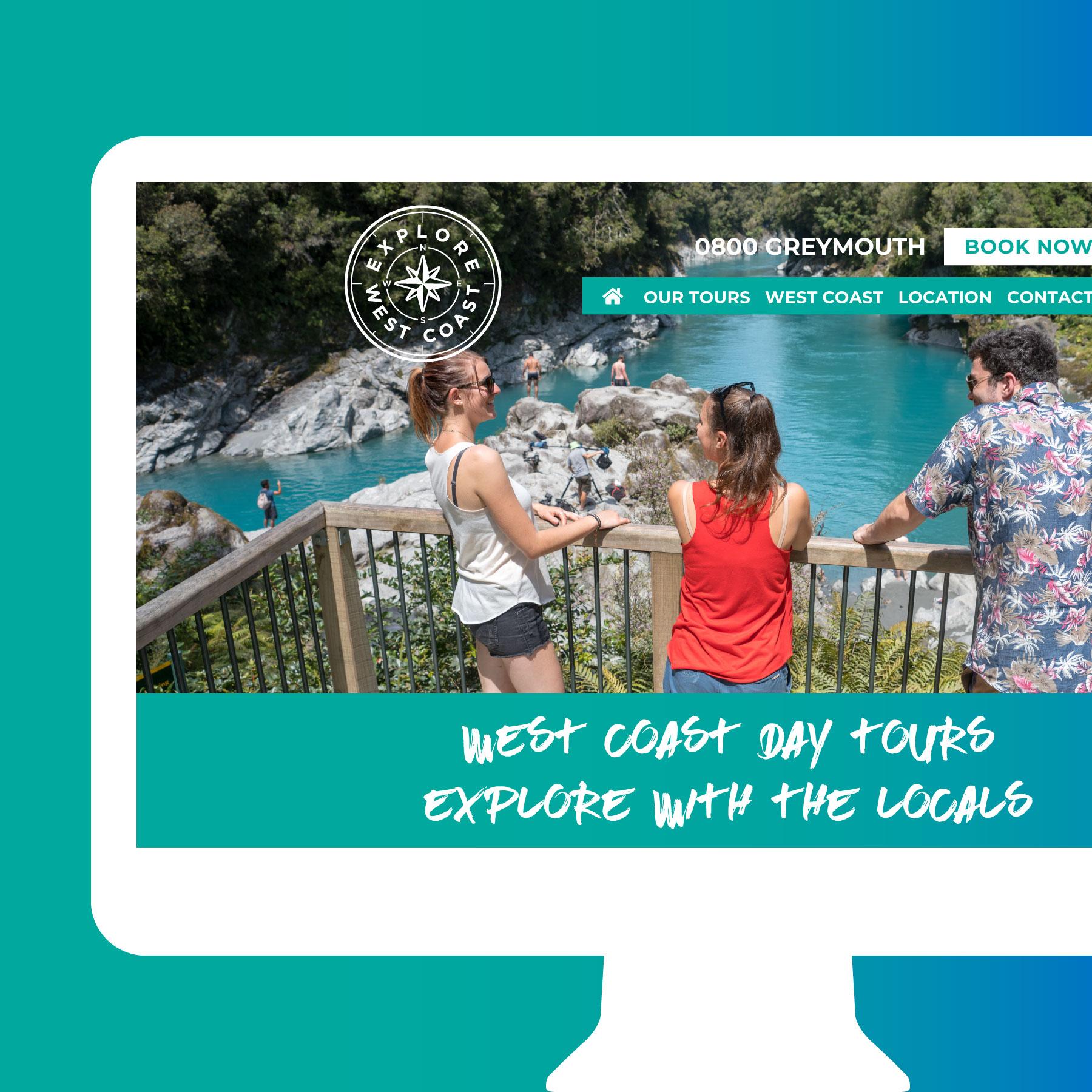 Explore West Coast Website