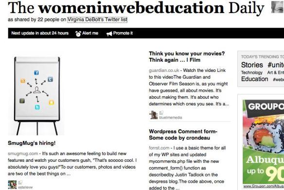 Women in Web Education Daily