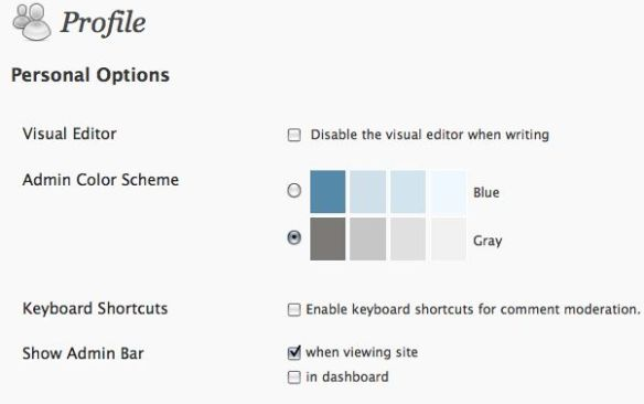 User Profile in WordPress