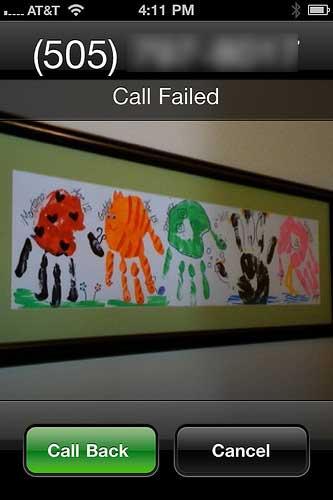 call failed