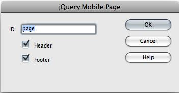 jquery mobile page dialog