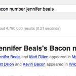 jennifer beals bacon number