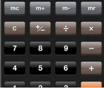 Apple calculator