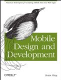 get Mobile Design and Development at amazon
