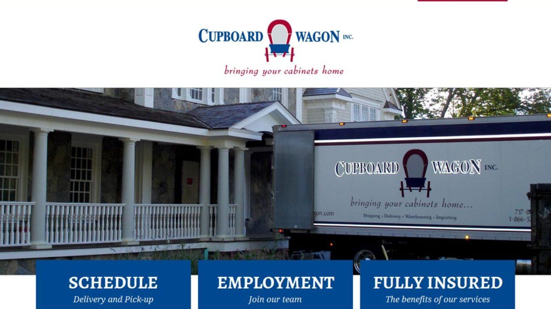 Web Design Richland PA Cupboard Wagon