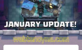 Clash Royale Ocak 2019 Güncelleme