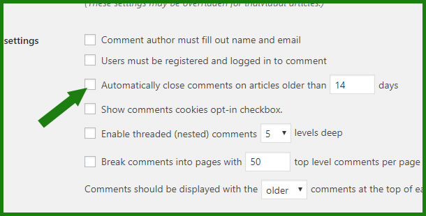disable-comment-for-older-post-WordPress