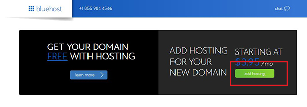 add-hosting-in-bluehost
