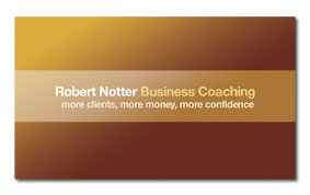 Robert Notter Business Card