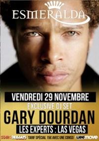 Gary Dourdan à L'Esméralda Toulouse - crédit Esméralda