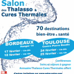 Le Salon des Thalasso et Cures Thermales ce week-end.