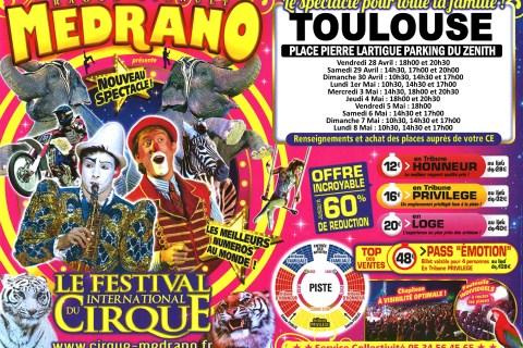 Le Cirque Medrano à Toulouse ! Vos places à gagner !