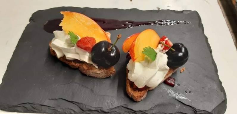 Dessert/fromage : Mousse bleu des Causses