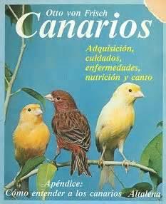 LIbro sobre cría de canarios