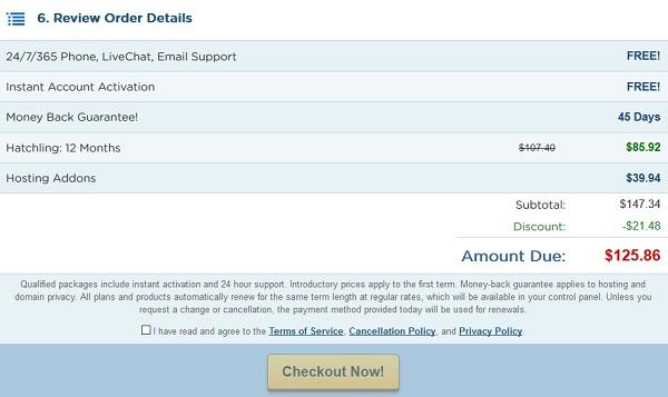 como pagar servicios de web hosting