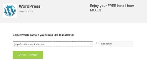 como instalar wordpress gratis