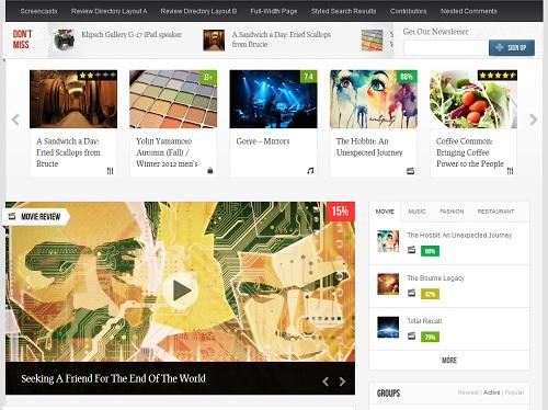 temas wordpress para hacer blogs de cine