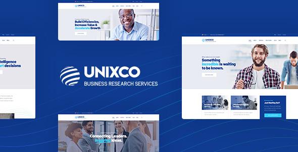 Temas WordPress Para Servicios De Investigación Empresarial - Unixco ...