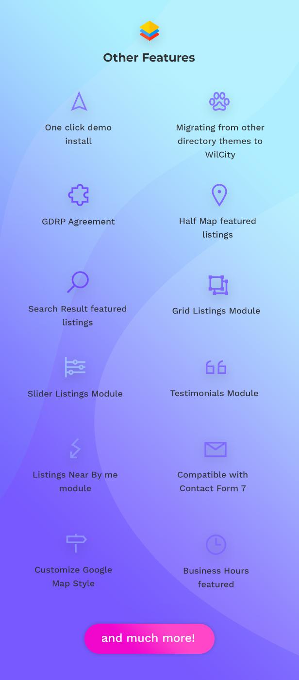 Wilcity - Listado de temas de WordPress de directorio