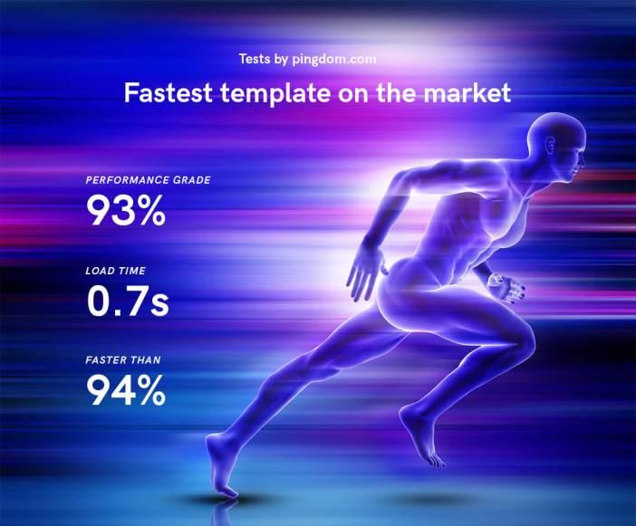 Velocidad de plantilla HTML5 marfil