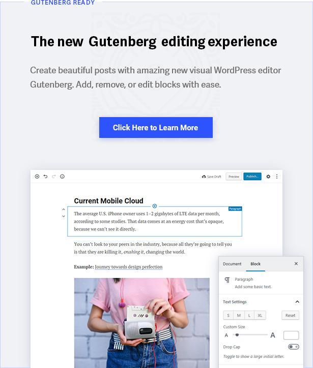 Estilos de Gutenberg