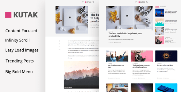 plantillas wordpress minimalistas