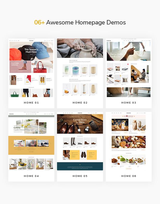 10 temas de WordPress de la mejor moda increíble de WooCommerce