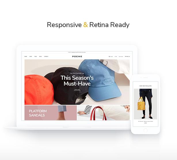 Temas de Retina WooCommerce