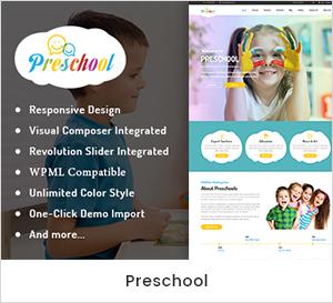 Guarderías Infantiles y Escuela Tema WordPress