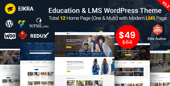 Tema WordPress Educación