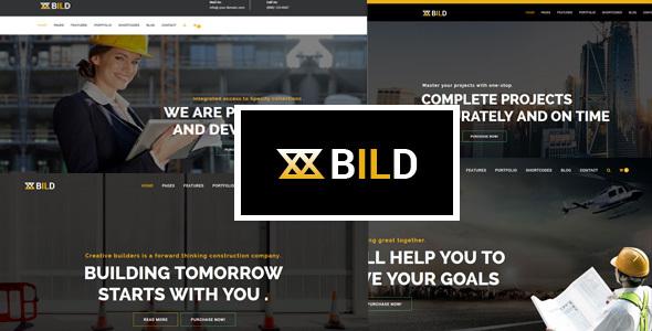 Bild   Construcción, construcción, multiusos, Helix Ultimate Joomla Theme con Page Builder - Empresa corporativa