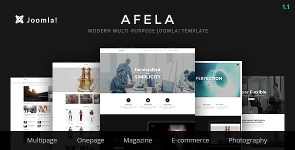 Afela | Tema de Joomla empresarial flexible de usos múltiples con Page Builder - Temas de Joomla CMS