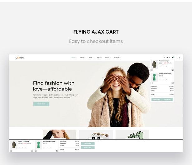 flying ajax cart-Bos Deerus - Moda y accesorios unisex