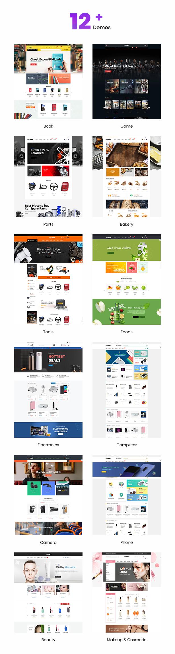 Minymart Multipurpose Shopify Theme