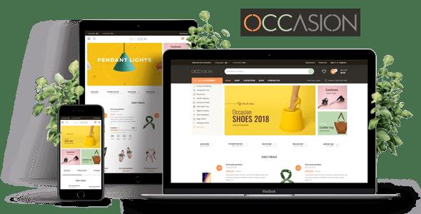 Plantilla Responsive Shopify de OCASIÓN