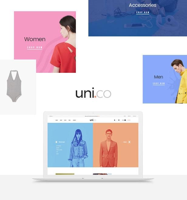 Prestashop temas 1.7 leo tienda de moda Uni Co