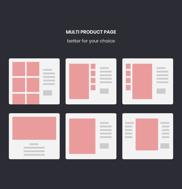 Multi-producto-estilo de página