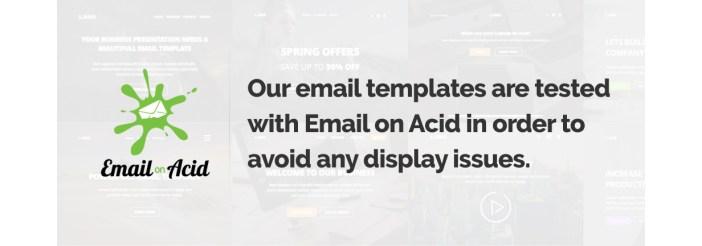 correo electrónico sobre el ácido
