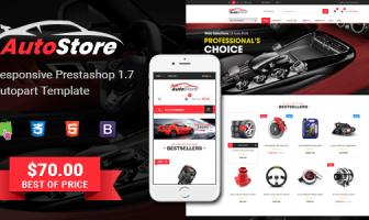 AutoStore - Tema PrestaShop 1.7 Autopart Responsive