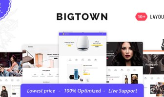 Bigtown - Shopify Multi-Purpose Responsive Theme