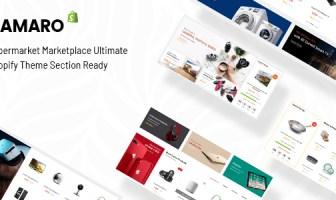 Camaro - Gadgets y Moda Digital Supermercado Minimalista Shopify Sección Tema