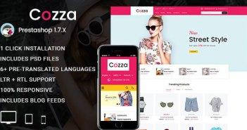 Cozza - Fashion Prestashop 1.7 Responsive Theme