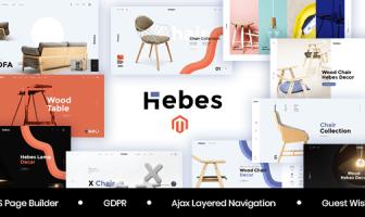Hebes - Tema Magento 2 Multipropósito