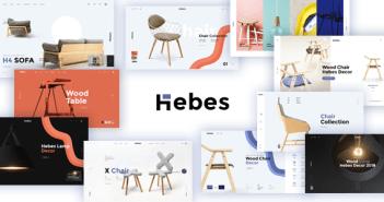 Hebes - Tema de Shopify de muebles modernos