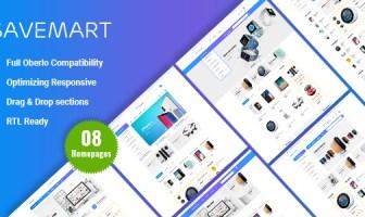 Savemart - Último tema responsivo de Shopify Digital