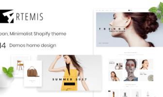 Shopify Theme Minimal - Artemis