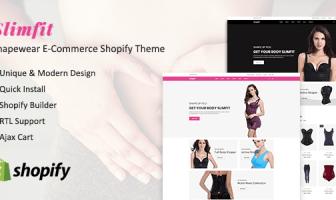 Slimfit - Shapewear eCommerce Shopify tema