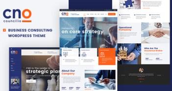 Consejo - Tema de WordPress para empresas y consultores financieros